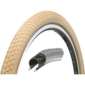 "Continental Ride Cruiser Wired-on Tire 28"" E-25 Reflex creme"